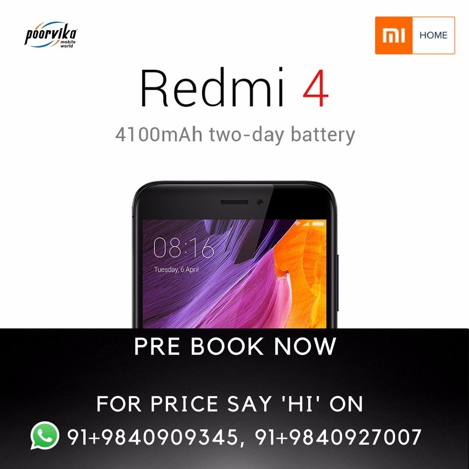 Upcoming product of xiaomi redmi in poorvikamobiles